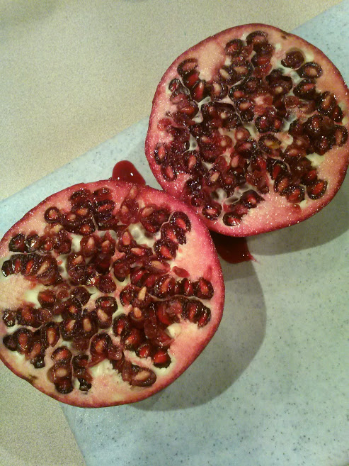 How to Not Eat a Pomegranate
