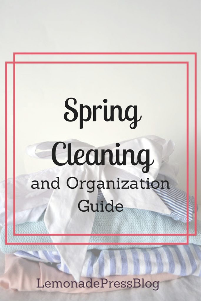 Spring Cleaning and Organization Guide