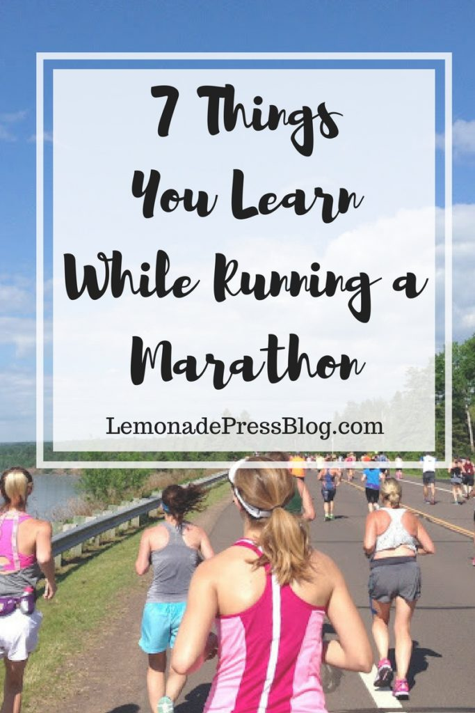 7 Things You Learn While Running a Marathon