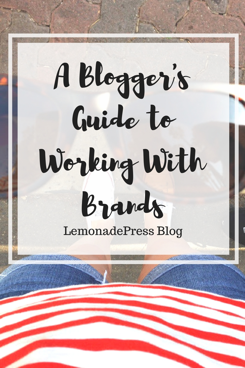A blogger's guide to working with brands